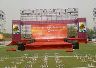 Large P6 P8 Outdoor Advertising Led Display Screen Full Color High Resolution