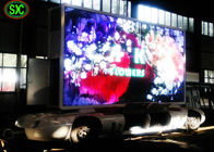 Video Outdoor Mobile Truck Led Display , Trailer / Vehicle Mobile truck mounted led screen