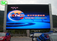 Full Color P16 Electronic Outdoor Advertising LED Display Screen High Brightness
