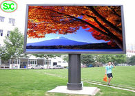 SMD HD P10 RGB LED Display , Ultra Thin LED Video Display Board for Advertising