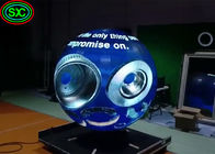 High Definition Indoor Full Color LED Display , Spherical LED Display 4mm Pixel Pitch