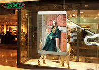 Window Transparent LED Screen , Smd 2121 Transparent Led Panel 4500cd Brightness