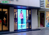 Indoor Window P3 P4 Curtain LED Display Screen 62500 Dots / Sqm Pixel Density