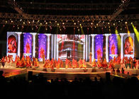 DC 5V Outdoor Led Screen Rental P4.81 Curved Display SMD 2727 For Stage 3840HZ