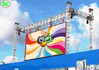Programmable Rental LED Display Outdoor P4.81 6500K-9500K For Rental Events