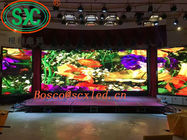 RGB 3 In 1 Stage Background Led Display Big Screen High Definition Pixel Density 160000