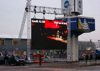 Pixel Panels Outdoor Full Color LED Display P8mm HD IP65 Fixed Installation