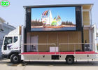 High Resolution Full Color Truck LED Display, Mobile Truck LED Screen Support WiFi 3G