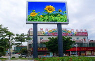 Ultra Thin RGB P6 P8 LED Billboards SMD Black Light With 8 Year Warranty