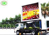 P6 Mobile Digital Mobile Truck LED Display 192mm*192mm Module Size Fixed On Vehicle