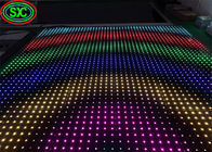 Epistar LED Chip P6.67 Full Color Light Up Dance Floor Waterproof IP65 SMD 1/8 Scan Mode