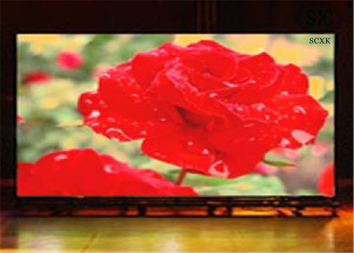 Flexible Big RGB LED Screen / Full Color P6 Led Module High Brightness