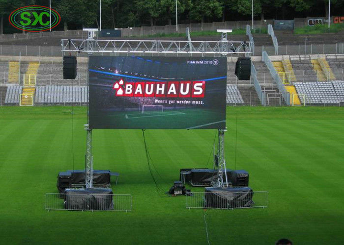Outdoor HD Full Color Sport Stadium LED Screen P10mm 10000dots/sq m exterior led display