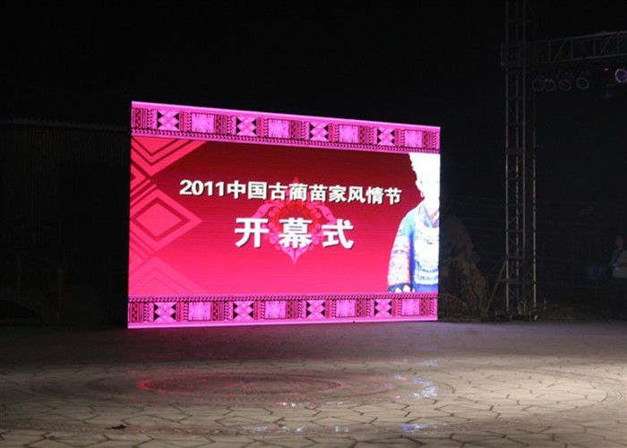 Die Casting Aluminum outdoor Rental Led Display Screen P5 smd Led Video Wall
