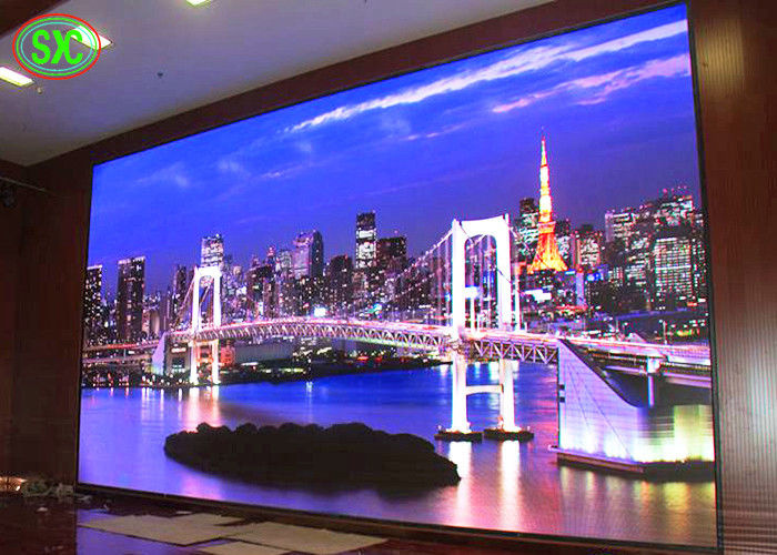 High Resolution p2.5 indoor Advertising Led Screens , Indoor Rental Led Display and stage background led screen