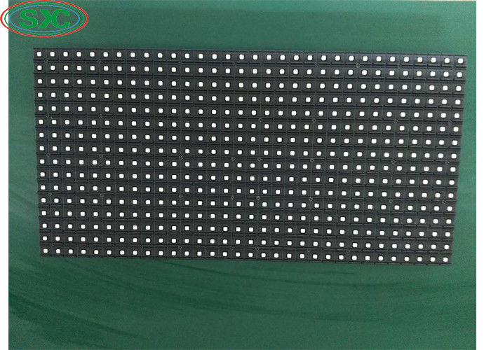 Outdoor Smd3535 P10 Led Screen Module 320x160mm 1/4 Scan Driving Mode IP65/IP54