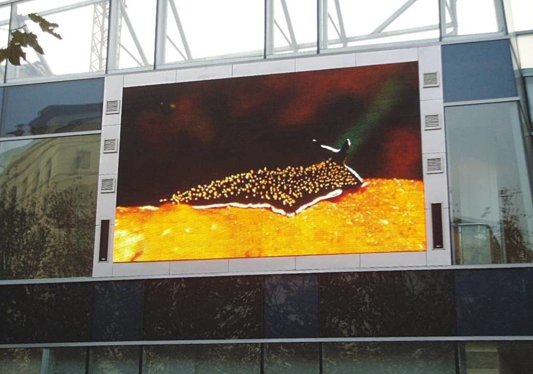 High Brightness Highway Led Board Signage Outdoor P8 Full Color SMD DIP Advertising Panel