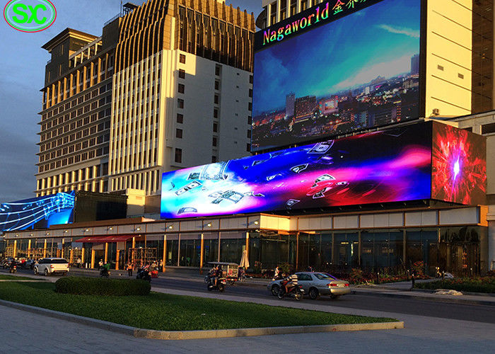 Advertising Led Video Wall Screen , Full Color LED Display For Hospital Stadium Shopping Mall