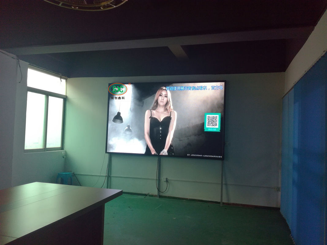 Advertising 3mm SMD LED Screen HD Video Wall Rental Live Broadcast Ultra Thin