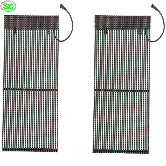 P15 Video Wall Curtain LED Display Waterproof Novastar Stage Backdrop Easy Installation