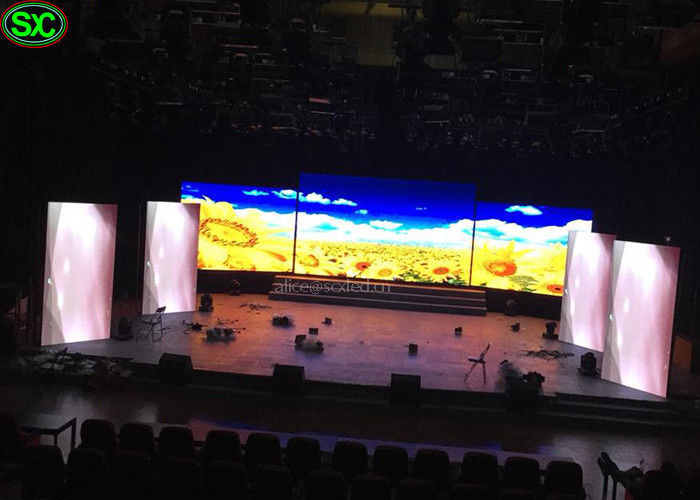 P4.81 P4 Indoor Stage Led Screens For Hire Rental 1200 Nits Brightness Rgb 3 In 1