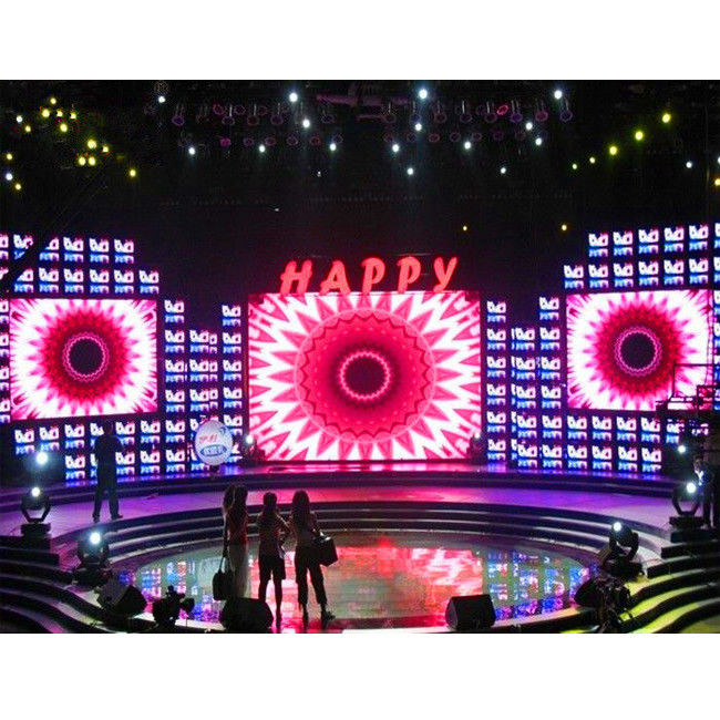 HD P3 Indoor Rental LED Display Screen High Brightness 576 X 576mm For Events