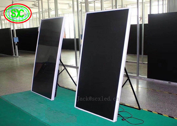 New HD P3 Led poster Screen/Advertising Screen/LED Mirror Screen 192*192mm from China