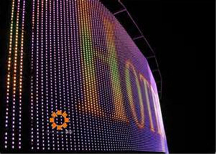 Outdoor Full Color Pixel 37.5mm Curtain LED Display For Sports stadium