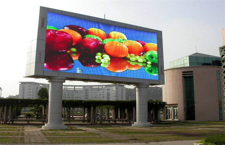 Fields SMD P10 Outdoor Full Color LED Display Waterproof IP65,100000hours Operating Life